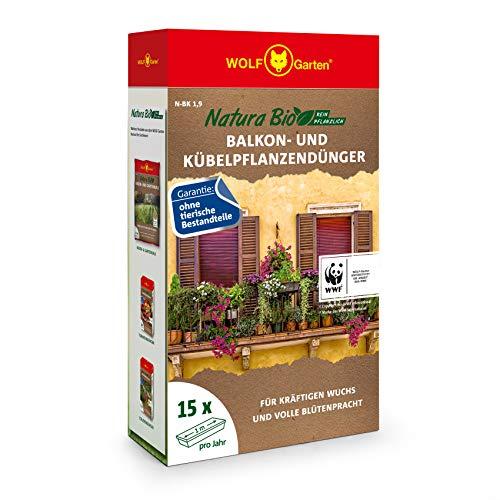 WOLF Garten - Kräuterdünger in Rot, Größe ca. 15 Blumenkästen/Jahr