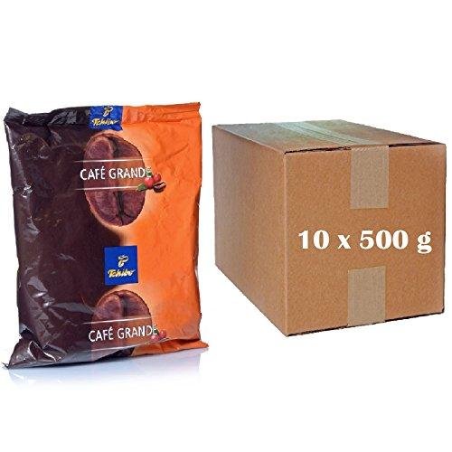Tchibo Café Grande 10 x 500g Cafe Kaffee ganze Bohne