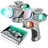 Liberty Imports Galactic Space Infinity Blaster Pistol Toy Gun for Kids with Flashing Lights and Blasting FX Sounds (Edition 2)