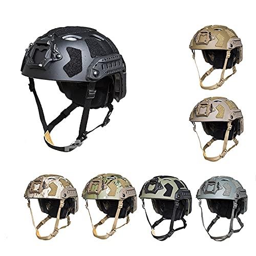 FMA Tactical SF Helm Schutzhelm Jagd Paintball Helm mit Loch