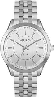Relógio Euro Feminino Color Slim Prata - EU2035YOU/3K