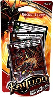 Wizards of the Coast Kaijudo Trading Card Game Limited Edition Deck Rocket Storm