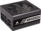 Corsair RM650x Alimentation PC (Modulaire Complet, 650 Watt, 80 PLUS Gold) Noir