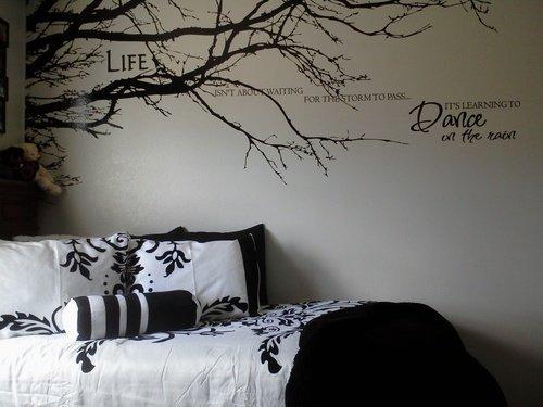 Wandaufkleber Baum Top Niederlassung Hause Vinyl Wandtattoo Aufkleber Wall Art sticker 100