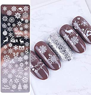 1Pcs 12X4cm Nail Stamping Plates Leaf Flowers Butterfly Cat Nail Art Stamp Templates Stencils Design STZ-N02