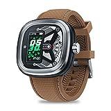 LayOPO Zeblaze Hybrid 2 Smart Watch Nuevo Modelo 3D Podómetro Monitor de Consumo de calorías, BT V4.0, Batería de 100mAh, Despertador, Cronómetro, Cámara Remota, Recordatorio de Llamadas, Findphone