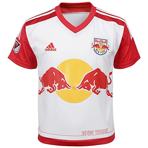 MLS New York Red Bulls Infant Outerstuff Primary Replica Jersey, White, 12 Months