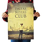 Aawerzhonda Poster Wandbilder Film The Dallas Buyers Club