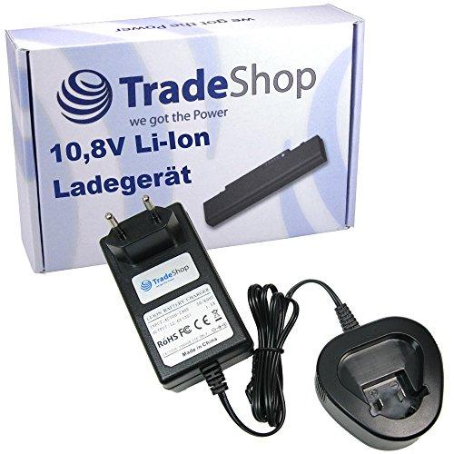 Trade-Shop 10,8V Li-Ion Akku Ladegerät Ladestation Schnellladegerät für Dremel 8200, 8200 Multi Max, 8220, 8300, 8300 Multi Max