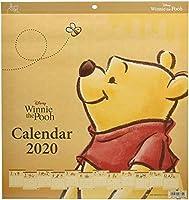 [厳選商品] サンスター文具 くまのプーさん 2020年 カレンダー 壁掛け 45×42cm