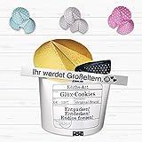 Ihr werdet Großeltern - Geschenkbox Glüx Cookie Schwangerschaft Überraschung - Farbe wählbar
