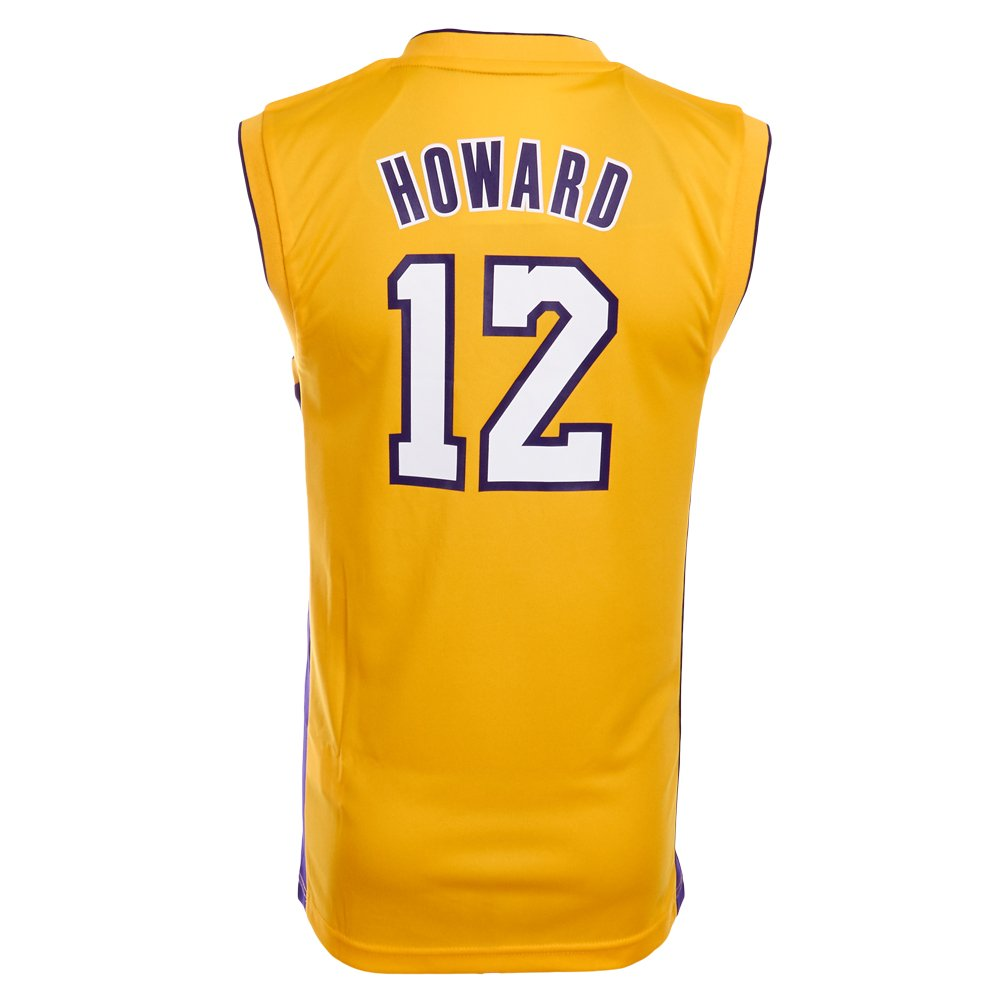 adidas La Camiseta de Baloncesto Lakers 12 Howard l88185, Amarillo, XXS: Amazon.es: Deportes y aire libre