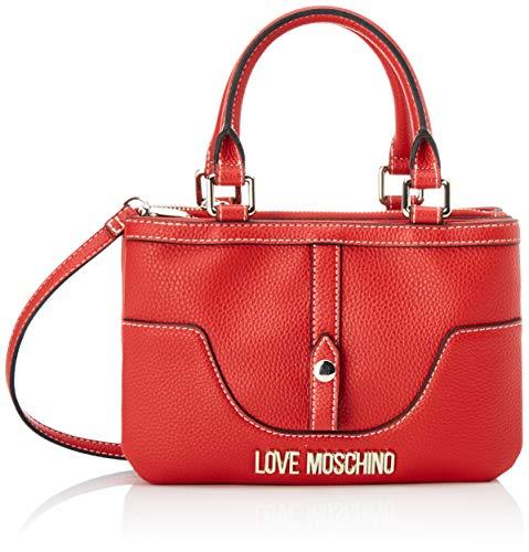 Love Moschino Damen Jc4214pp0a Kuriertasche, Rot (Red), 10x16x24 Centimeters