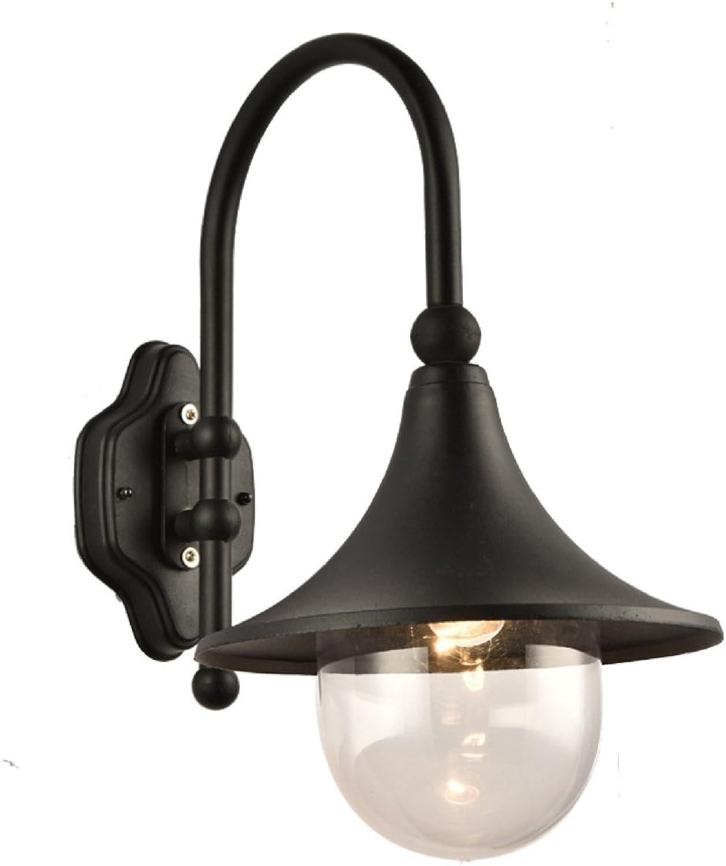 Raing Schmiedeeisen Elbow LED Wandleuchte Retro Gang Balkon im Freien Hof Wasserdichte Wandlampen   E27 110v220v, C