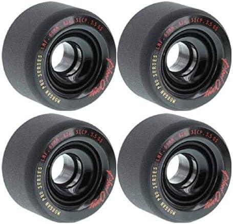 Blood Orange Sale price Spring new work Morgan 65mm 82a Black 4 Of Skateboard Set Wheels