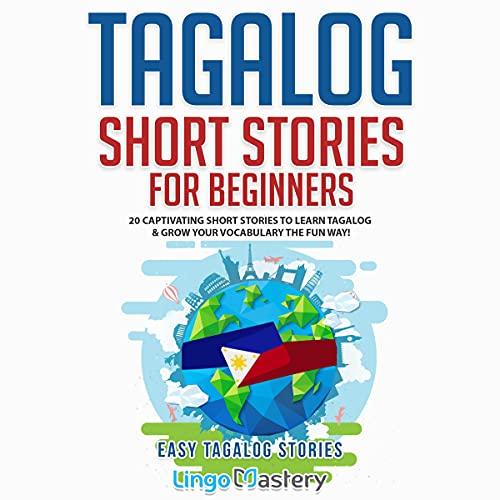 『Tagalog Short Stories for Beginners』のカバーアート