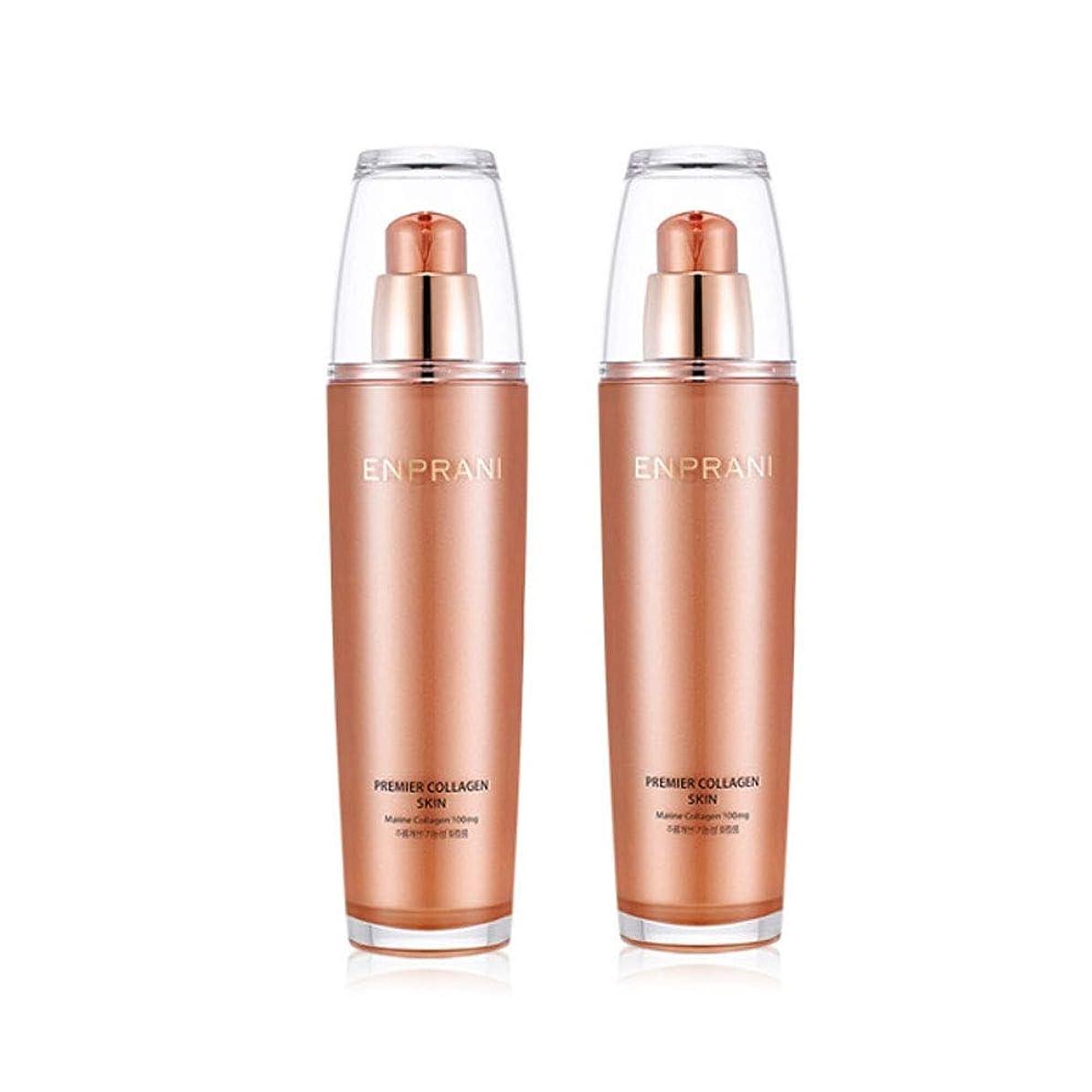 旋回試験小さいエンプラニ?プレミアコラーゲンスキン125ml x 2本セット、Enprani Premier Collagen Skin 125ml x 2ea Set [並行輸入品]