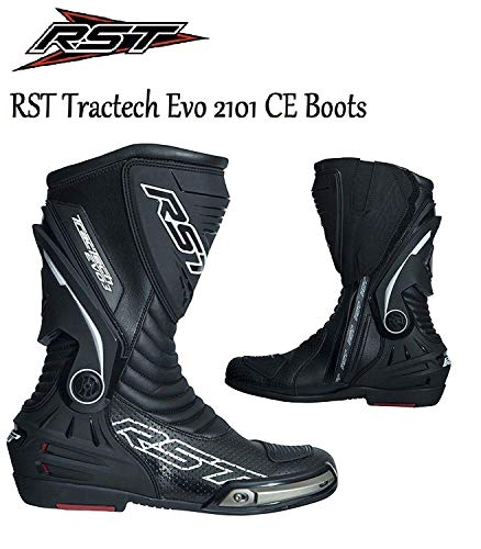 RST Motorradstiefel Tractech EVO-III 2101 CE-gepr/üfte Motorrad Sports Rennen allroundstiefel