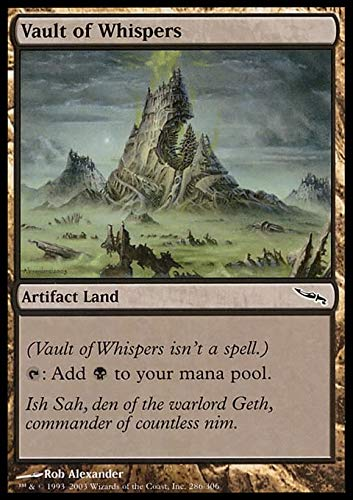 Magic The Gathering - Vault of Whispers - Mirrodin