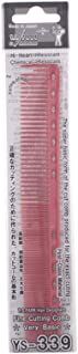YS-Park Y S 339 Professional Fine Cutting Hair Comb Red