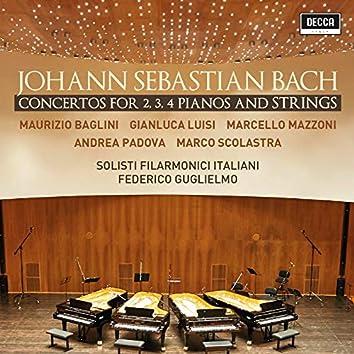 Bach: Concertos For 2, 3, 4 Pianos & Strings