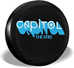 Ginu Capitol Theatre Passaic, New Jersey Joey Ramone Tire Covers Waterproof Tire Protectors Tire Covers Fits 14