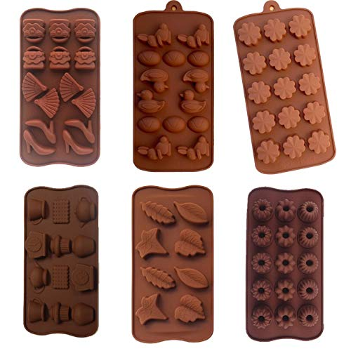 Amazing Deal Silicone Candy Chocolate Soap Molds Baking Flower duck leaf donut fashion egg