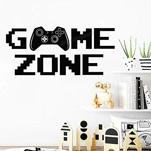 Etiqueta de la pared del controlador del área de juego
