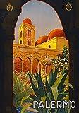 Generic Palermo Vintage Reisen Fotodruck Poster Stadt