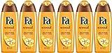 Fa  - Gel Douche - Sensual & Oil Fleur de Vanille - Flacon 250 ml - Lot de 6