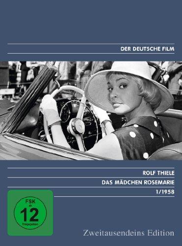 Das Mädchen Rosemarie - Zweitausendeins Edition Deutscher Film 1/1958.