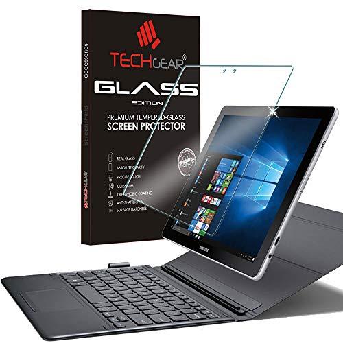 TECHGEAR Vetro Temperato Compatibile con Il Samsung Galaxy Book 10.6 Pollici - Autentica Pellicola protecttiva in Vetro Temperato Salvaschermo