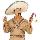 Dinamita de luz Falsa Bomba de plástico Cartucho de Dinamita Vaquero Bancos explosivoshasta México Bandit Polvo Accesorio de Disfraces de Carnaval de Accesorios para Disfraz de Mexicano