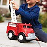 Fire Truck - BPA Free, Phthalates Free Imaginative Play Toy for Improving Fine Motor, Gross Motor Skills. Toys for Kids Extending Ladder