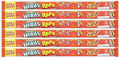 Wonka Rainbow Nerds Seil (6 Stück) American Candy & Sweets