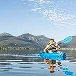 Lifetime Youth Wave Kayak (Paddle Included), Blue, 6' 17 Ergonomic Cockpit Design Enhances Balance and Motor Skills Molded finger handles on each side of the kayak Reverse chine for enhanced stability with swim-up step