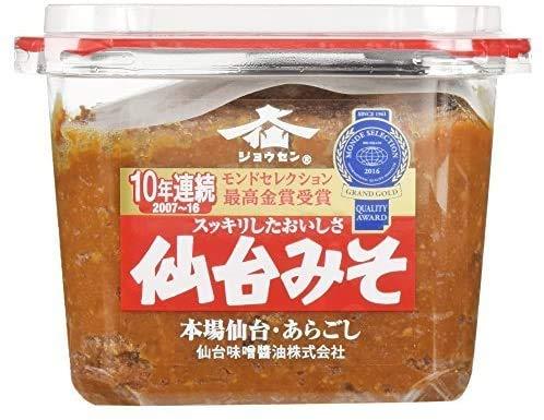 【お買い得セット】仙台味噌醤油 本場仙台みそカップ 750g × 2個セット
