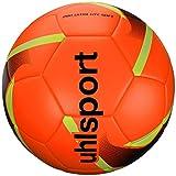 uhlsport 290 Ultra Lite Soft Balón Fútbol, Juventud Unisex, Fluo Red/Black/Fluo Yello, 4