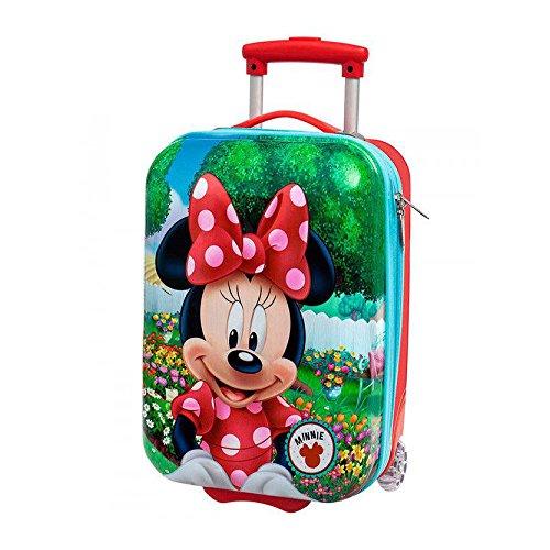 Disney Minnie Garden Bagage Cabine, 55 cm, 36.3 L, Rouge