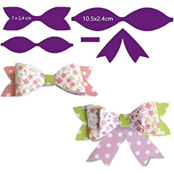Plastic Viynl Bow Making Template DIY Scalloped  SMALL+MEDIUM+LARGE