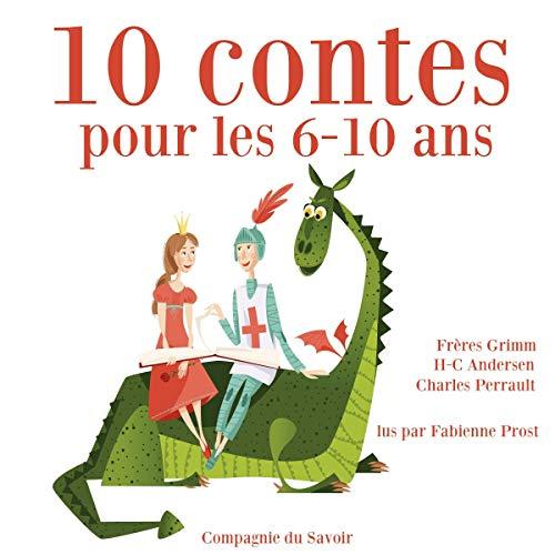 10 contes pour les 6-10 ans audiobook cover art