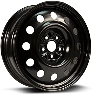 RTX, Steel Rim, New Aftermarket Wheel, 18X7, 5X114.3, 67.1, 40, black finish X48567