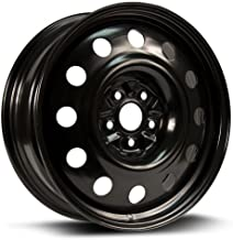 RTX, Steel Rim, New Aftermarket Wheel, 18X7, 5X114.3, 67.1, 40, black finish X48567