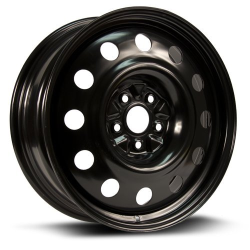 RTX, Steel Rim, New Aftermarket Wheel, 18X7, 5x114.3, 60.1, 40, black finish, X48560
