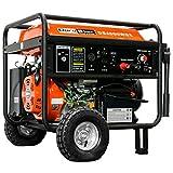 DuroStar DS4000WGE, 3500 Running Watts/4000 Starting Watts, Gas Powered Portable...