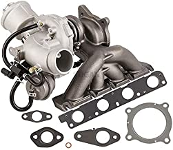 New Stigan Turbo Kit With Turbocharger Gaskets For Audi A4 2.0T 2005 2006 2007 2008 2009 w/Engine Code BWT - BuyAutoParts 40-80311S0 New