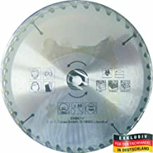 MASTERP–Hoja de sierra circular de metal, 210mm, 40dientes especialmente endurecidos, para todo tipo de madera trabajar