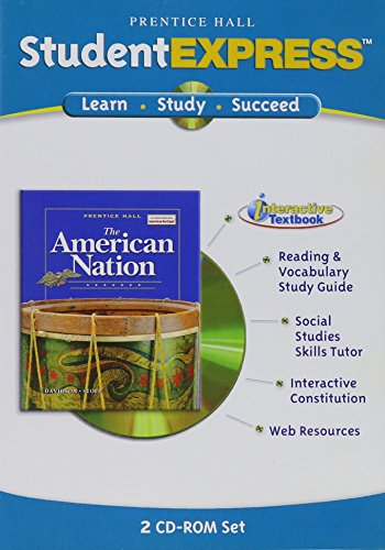 PRENTICE HALL THE AMERICAN NATION STUDENT EXPRESS 2005C