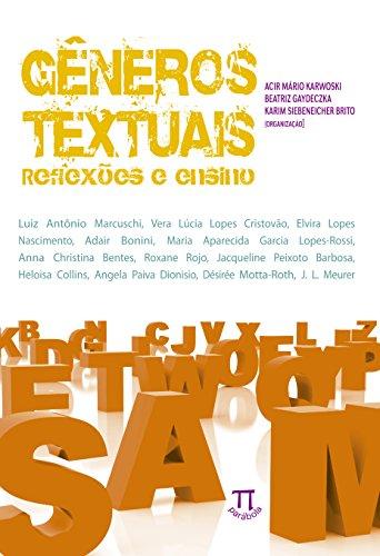 Gêneros Textuais Reflexões e Ensino