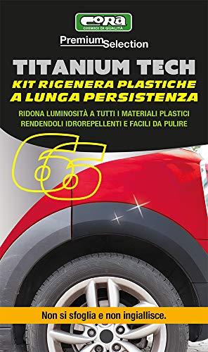CORA 0066 Kit rigenera plastiche a Lunga Durata Titanium Tech 4 spesavip